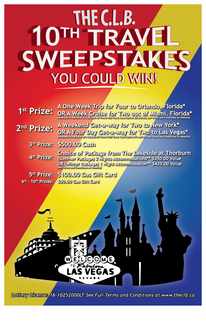 10th Annual Travel Sweepstakes