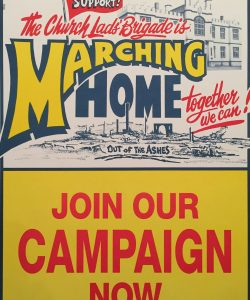 Poster of the Marching Home Campaign